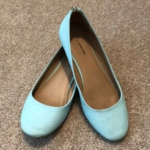 ⚡️2/$8⚡️Call it Spring teal flats